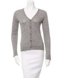 Calvin Klein Collection Long Sleeve V Neck Cardigan