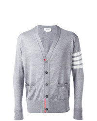 Thom Browne Stripe Sleeve Cardigan