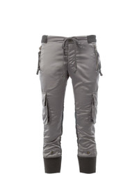 Greg Lauren Cargo Cropped Trousers