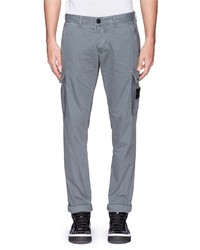 Nobrand Coated Cotton Cargo Pants