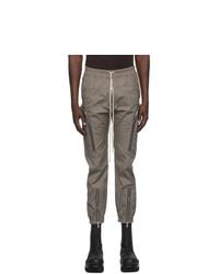 Rick Owens Grey Bauhaus Cargo Pants