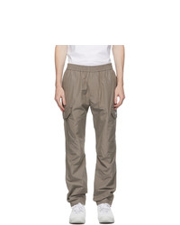 MSGM Grey Cargo Pants