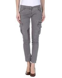 Pinko Grey Casual Pants