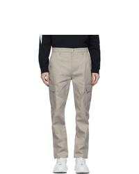 Valentino Grey Six Pocket Cargo Pants
