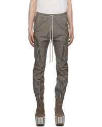 Rick Owens Taupe Bauhaus Cargo Pants