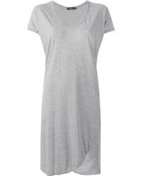Bassike V Neck T Shirt Dress