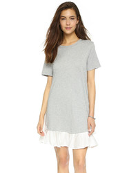 Clu Ruffle Tee Dress