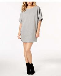 Kensie Elbow Sleeve Sweatshirt Dress