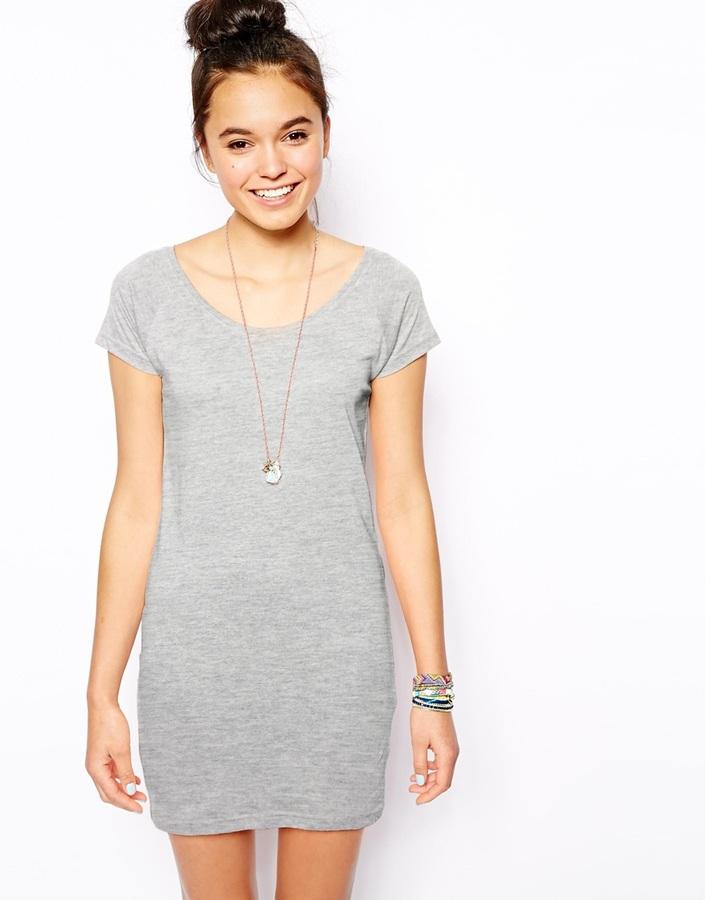 jersey t shirt dress