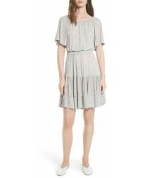 Rebecca Taylor Ruffle Back Cutout Dress