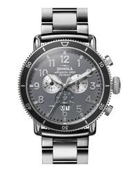 Shinola The Runwell Sport Chronograph Bracelet Watch