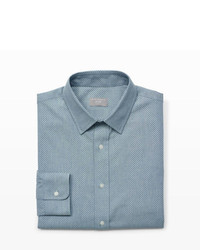 Grey Chambray Dress Shirt