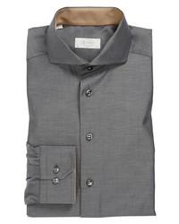 Eton Slim Fit Dress Shirt Grey 15