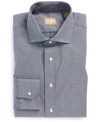 Gitman Regular Fit Chambray Dress Shirt