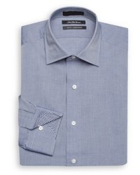 Saks Fifth Avenue Slim Fit Chambray Dress Shirt
