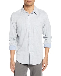 Faherty Belmar Regular Fit Reversible Cotton Sport Shirt