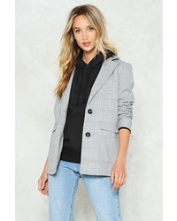 Nasty Gal Nastygal Well Check You Out Blazer