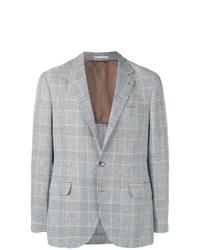 Brunello Cucinelli Prince Of Wales Check Blazer