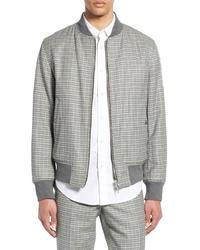 rag & bone Manston Reversible Cotton Wool Bomber Jacket