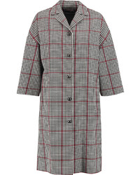Dolce & Gabbana Checked Cotton Blend Coat