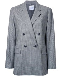 CITYSHOP Checked Double Breasted Coat