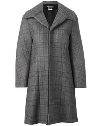 Junya Watanabe Comme Des Garons Checked Oversized Coat