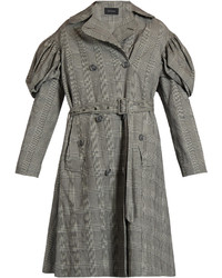 Simone Rocha Prince Of Wales Checked Trench Coat