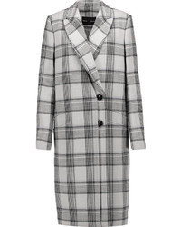 Proenza Schouler Checked Wool Blend Coat