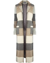 Tall Check Maxi Coat