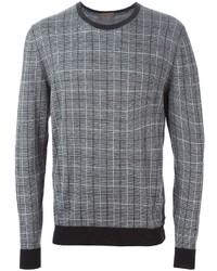 Checked sweater medium 377197