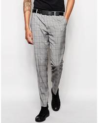 Rudie Slim Fit Heritage Check Suit Pants