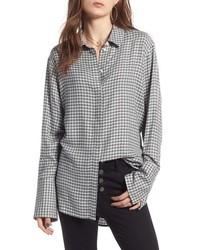 Grey Check Dress Shirt