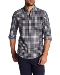 Wallin Bros Print Trim Fit Flannel Shirt