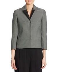 Micro check cotton jacket medium 3703250