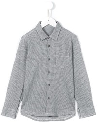 Grey Check Long Sleeve Shirt