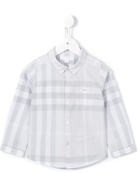 Burberry Kids Trauls Check Shirt