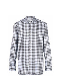 Kiton Checked Button Shirt