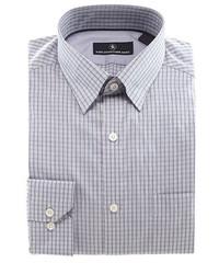 Hart Schaffner Marx Long Sleeve Mini Check Woven Shirt