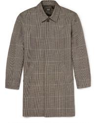 Grey Check Overcoat