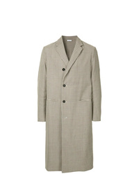 Jil Sander Checked Long Coat