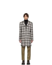 Etro Grey Semi Traditional Regular Fit Coat