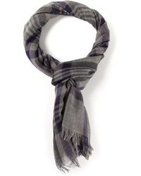 Bottega Veneta Checked Scarf