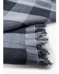 Mango Man Check Cotton Scarf