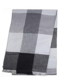 Van Heusen Textured Grid Scarf