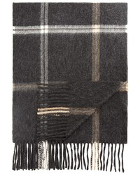 The Store At Bloomingdales Plaid Windowpane Scarf