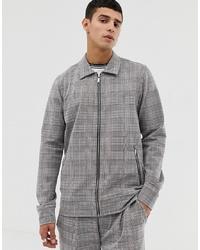 Jack & Jones Premium Smart Worker Jacket In Grid Check