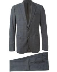 Armani Collezioni Fine Check Formal Suit