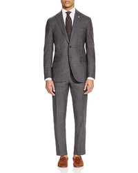 Eidos Tonal Check Slim Fit Suit