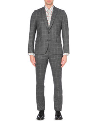 Paul Smith Soho Fit Checked Wool Suit
