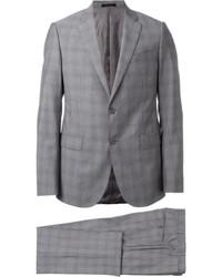 Tonal check suit medium 1132047